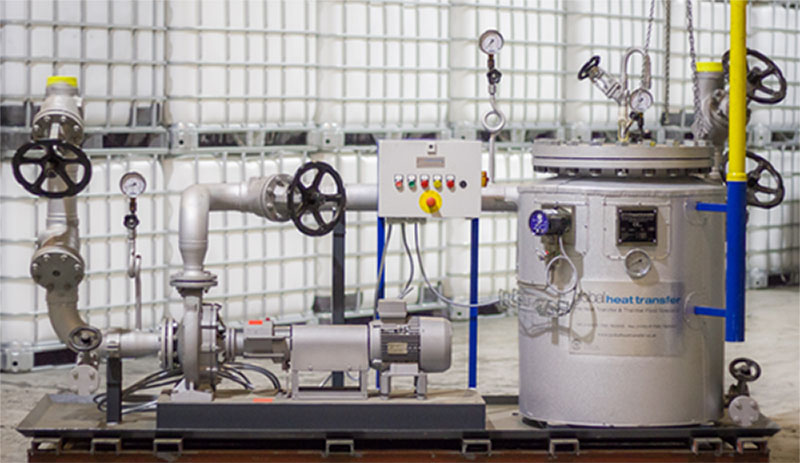 The use of athermal fluidfiltration system helps ensure a more cost effective, clean and efficientthermal fluidmanufacturing production system.